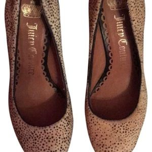 Juicy Couture Cheetah Pumps